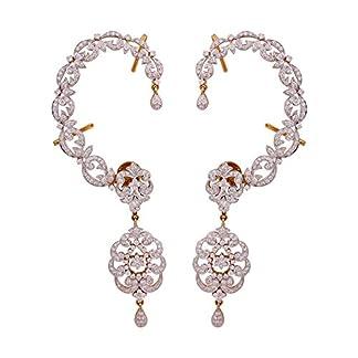 WHP Jewellers 18k (750) Yellow Gold Diamond Drop Earrings
