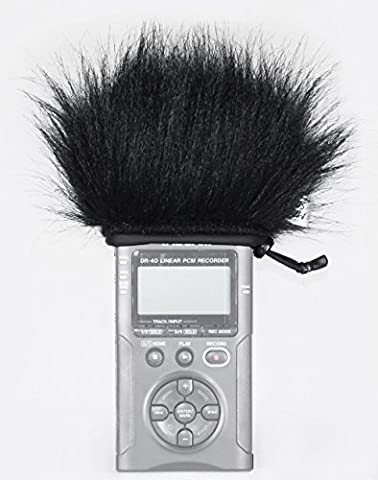 Master Sound Tascam DR-40, Winds tactile Muff for Enregistreur Tascam DR-40/Tascam DR-40V2to Protect The Record FROM THE WIND, Easy to put on RECORDERS, fabriqué à la main en The UE FROM Certified, high-quality and Reliable Materials, Record Dans A High Quality.