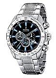Festina Sport Herrenuhr Chronograph Armbanduhr mit Edelstahlband F16488/3