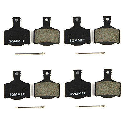 4 paia SOMMET Pastiglie freno a disco semi-metallico per MAGURA MT MT2 MT4 MT6 MT8 ZSP06-4