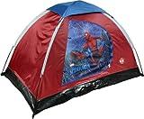 Spiderman Youth 2Pole Kuppelzelt mit Reißverschluss D Türen, Geschenkpapierrolle 150cm x 0,9m x 91,4cm