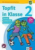 Klett Topfit in Klasse 2: Deutsch, Mathematik, Konzentration: Über 200 Übungen für die Grundschule (Die kleinen Lerndrachen) -