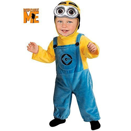 Minion Despicable Kostüm Dave 2 Me - Minion Dave (Despicable Me) - Toddler Costume 1 - 2 years by Rubies