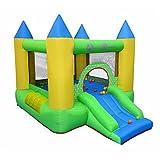Alice's Garden Château gonflable - Robersart - structure trampoline gonflable, aire de jeu pour enfants, 2,8m