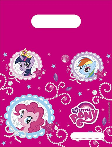Unique Party Supplies Sparkle My Little Pony Partytüten, 6 Stück (My Little Pony-party-ideen Dekorationen)