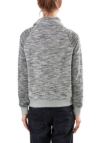 Q/S designed by 41.608.41.5893, Sweat-Shirt Femme Schwarz (black melange 99W0)