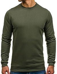 BOLF-Sweat-shirt – Manches longues – U-neck – Homme [1A1]