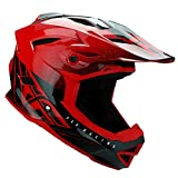 Fly Racing MTB Full Face Helm 2019 Default Rot-Schwarz (Medium, Rot)
