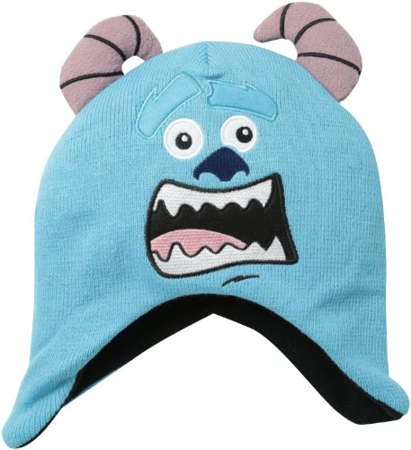 Monster University Sully Face Youth Knit Beanie Hat (Monsters University Hut)