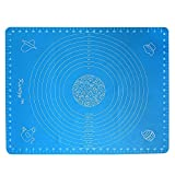 Silicone Rolling Mat - Non Stick Pastry Mat (50cm...