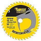 1 lame de scie circulaire SCCSF184CR40 SabreCut 184 mm 40 T x 16 mm pour Dewalt...