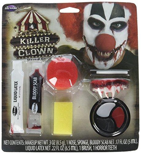 Halloween-Killer Clown-schminken-Kit
