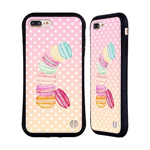 Ufficiale Monika Strigel Caramella Macarons Case Ibrida per Apple iPhone 7 (Finiture In Pelle Caramella)