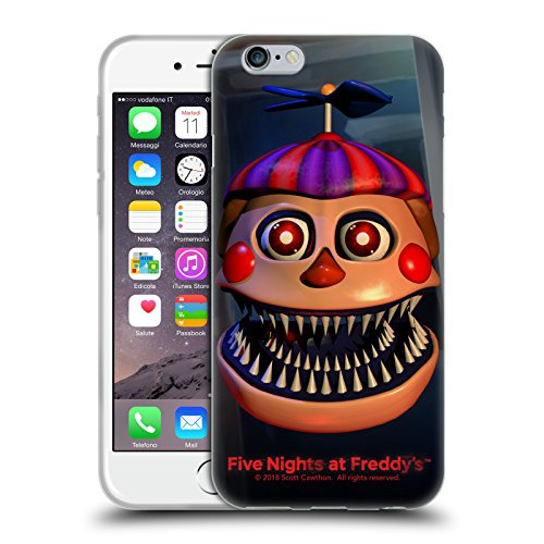 Official Five Nights At Freddy's Nightmare Balloon Boy Game 4 Soft Gel Case for iPhone 6 / iPhone 6s