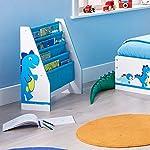 Worlds Apart Boys Generic Dinosaurs Sling Bookcase + Boys Generic Dinosaurs Toy Box