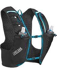 Camelbak Ultra Pro Mochila de Hidratación, Hombre, Negro / Azul (Atomic Blue), M