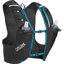 Camelbak Ultra Pro Mochila de Hidratación, Hombre, Negro / Azul (Atomic Blue), L