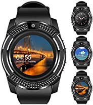 Speeqo 4g Android Smartwatch V8 with Calling Support Phone Kids Mens Boys and Girls Women