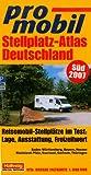 Deutschland Süd Stellplatz Atlas 2007