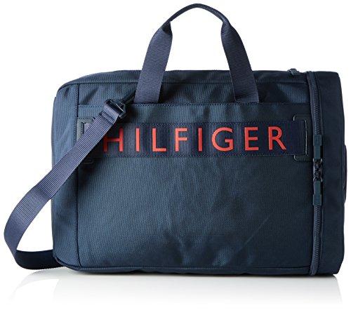 Tommy Hilfiger Hilfiger Convertible Computer Bag - Borse per PC portatili Uomo, Blau (Tommy Navy), 48x10x31 cm (L x H D)