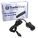 KFZ Auto Ladegerät Ladekabel Adapter Micro-USB passend für Blackberry Storm 9530 Curve 8900 Torch 9810 9860 Z10 Huawei U8860 Honor Vision X3 Lidl Handy X5