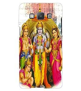 ColourCraft Lord Ram Laxaman Janaki and Hanuman Design Back Case Cover for SAMSUNG GALAXY A7