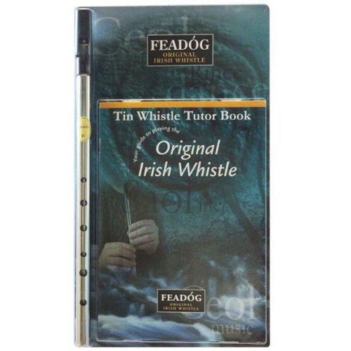 Feadóg Nickel D Irische Flöte mit leicht zu folgender Anleitung, enthält einfache Lieder für alle Altersstufen