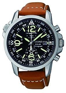 Seiko Men's Chronograph Quartz Watch with Stainless Steel Strap - SSC081P1 (B008QPA95C)   Amazon price tracker / tracking, Amazon price history charts, Amazon price watches, Amazon price drop alerts
