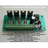 4Canal espectáculo de luz LED Controlador Chaser hk9984