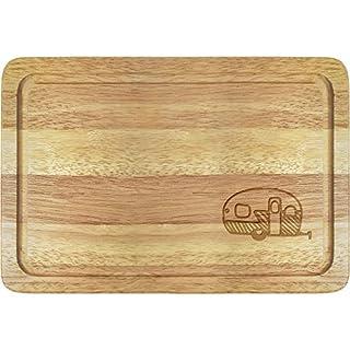 Azeeda 'Static Caravan' Wooden Chopping Board (WB00013066)