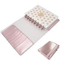 Discagenda Diva Elastic Strap Closure Rose Gold Discbound Planner 100 Sheets A5