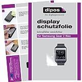dipos Pellicola protettiva per Samsung Gear 2 Neo (confezione da 2 pezzi) - cristallo pellicola di protezione del display