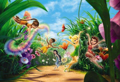 Die Kinder von Wand, Tapete Foto Prado 368x 254Disney Fairies Feen, Elfen Prado Mädchen - Disney Kinder, Mädchen, Tapete,