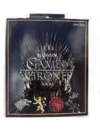 Project Set de regalo caja de 12 días de calcetines Game Of Thrones para hombres, socken cortos tobilleros y largos…
