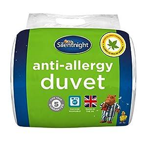Silentnight Anti Allergy 4.5 Tog Duvet, Microfibre, White, Double