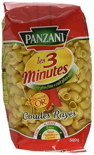 Panzani Pâtes Coudes Rayés 3 Minutes 500 g