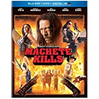 Machete Kills (Blu-ray + DVD + Digital HD with UltraViolet) by Danny Trejo