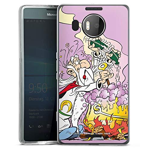 DeinDesign Microsoft Lumia 950 XL Silikon Hülle Case Schutzhülle Miraculix Merchandise Fanartikel Asterix und Obelix