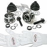 Autoparts-Online Set 60006185 2 x Gelenksatz Antriebswelle + Achsmanschette + Zubehör für Vorne/für die Vorderachse