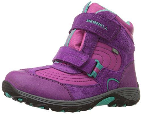 Merrell Moab Polar Mid Wtpf, Chaussures de randonnée montantes fille