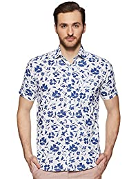 Easies by Killer Men's Printed Slim fit Casual Shirt