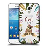 Head Case Designs Eule Seelen Tiere Abbildungen Ruckseite Hülle für Samsung Galaxy S4 Mini I9190