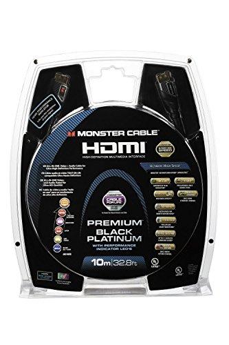 Monster MC Werkzeug PI den uhd-10m WW Kabel HDMI für Bildschirm HDTV 3D/BLU-RAY-Player 3D/Verstärker AV/Spiele Console Ultra HD schwarz/Gold