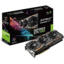 Asus GeForce ROG Strix GTX 1060 Scheda Grafica da 6 GB, VGA, Nero