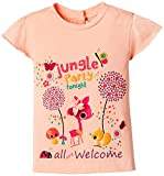 #10: Nauti Nati Baby Girls' T-Shirt (NSS15-471_Orange_12 - 18 months)