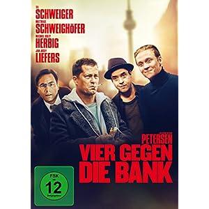 Vier gegen die Bank [Edizione: Germania]