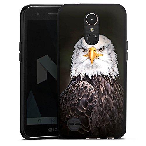 DeinDesign LG K10 (2017) Silikon Hülle Case Schutzhülle Adler Bird Vogel