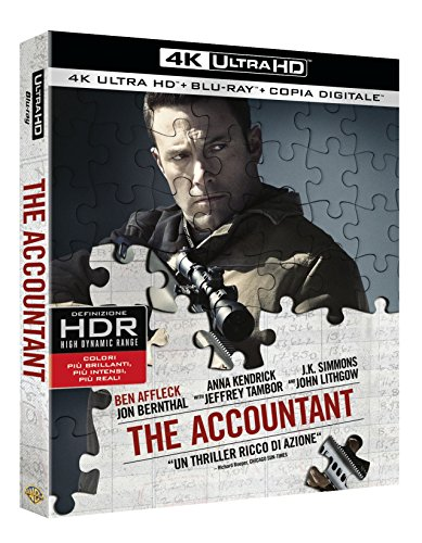 The Accountant (Blu-Ray 4K Ultra HD+Blu-Ray) [Blu-ray]