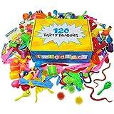 The Twiddlers Lot de 120 Jouets en Vrac - Grand Assortiment - Pochettes Surprise - Piñatas - Prix Carnaval - Cadeau aux Invités - Anniversaire Fête Sac, Bonbonniere, Enfants Petit Cadeaux