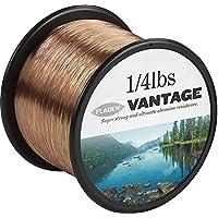 FLADEN VANTAGE Bulk PRO 1/8,82 libras de monofilamento bobinas de hilo de pesca extrafuerte (transparente y marrón) - disponible en 3, 6, 10, 12, 14, 18, 23, 28, 35, 45 y 121,25 lbs Marrón marrón Talla:10lbs - 1488m - 0.28mm